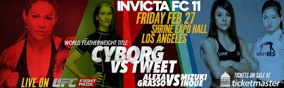 Invicta FC 11 Cyborg vs. TweetPromo