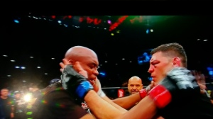 Nick mutual respect silva UFC 183
