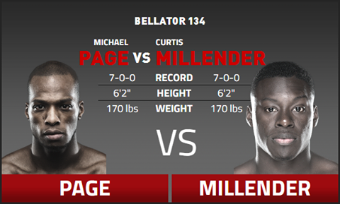 Michael Page Vs Curtis Millender