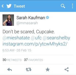 Sarah Kaufman Tweet