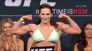Cat Zingano UFC 184