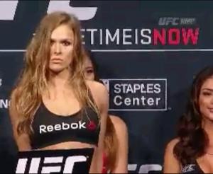 Ronda Rousey  UFC 184