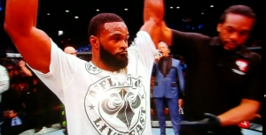 Tyron Woodley Win UFC 183