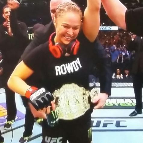 Still Bantamweight Champion Ronda Rousey
