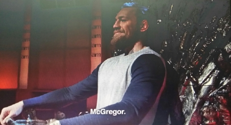 'King' Conor McGregor UFC 189 World Championship Tour