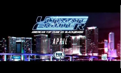 The Ultimate Fighter – American Top Team vs Blackzilians Premiers Tonight April22nd