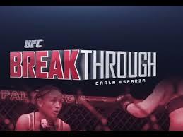 UFC 185: Breakthrough – CarlaEsparza