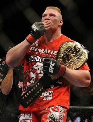 Brock Lesnar UFC HW Champion