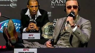 Conor McGregor Relaxed at UFC 189 world tour press conference