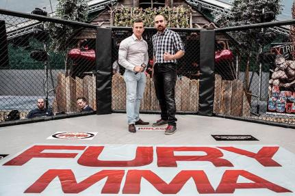 Dan and Steve FURY MMA 14