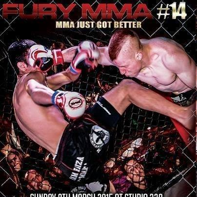 FURY MMA 14 – Event fight Results March8th