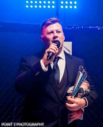 Gary Turland RAGED UK MMA Promoter (c) Point 5 Photography
