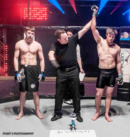 Guy Lewis at RAGED UK MMA (c) Point 5 Photography