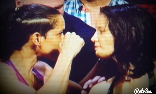 Amanda Nunes vs. Shayne Baszler Face Off UFC RIO
