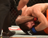 Leandro Silva vs. Drew Dober  during UFC Fight Night 62 by Jason Silva-USA TODAY Sports