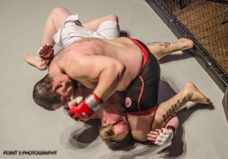Nemo GnP at RAGED UK MMA (c) Point 5 Photography
