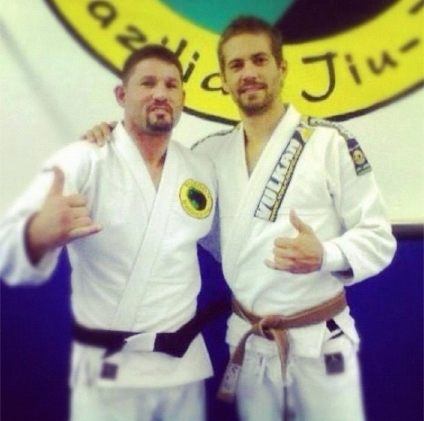 Paul Walker [Actor] and Brown Belt in Brazilian Jiu Jitsu