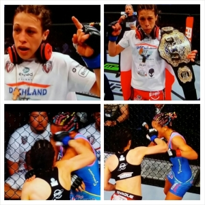 Joanne Jedrzejczyk photo montage; #NEW #strawweight #Champion