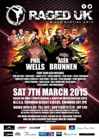 RAGED UK EVENT POSTER