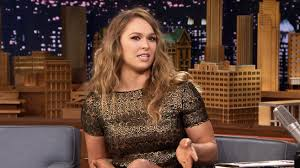 Ronda Rousey on The Tonight Show Starring Jimmy Fallon