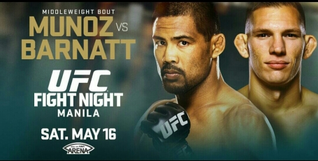 UFC Fight Night Manila Munoz vs Barnatt