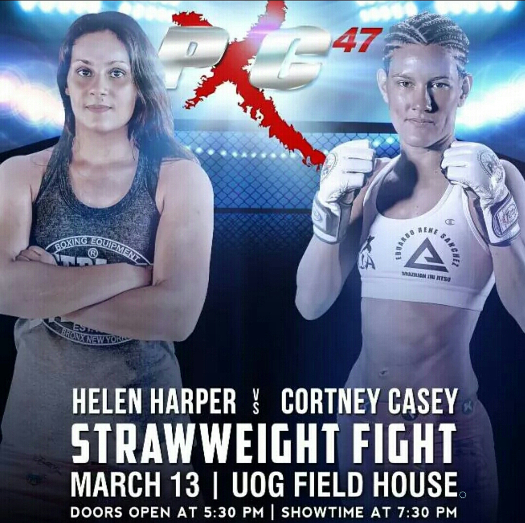 """It will be a quick 1st round finish, or it will be a long drawn out back and forth battle"" Helen'Hellraiser'Harper"