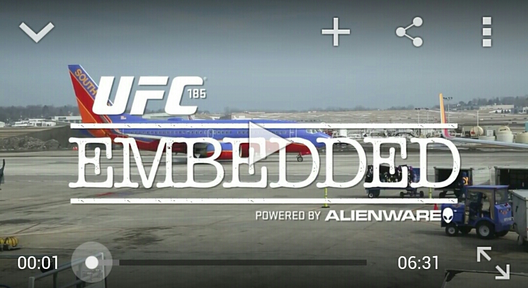 UFC 185 Embedded:Ep 3 – Make room for The Big Rigg!