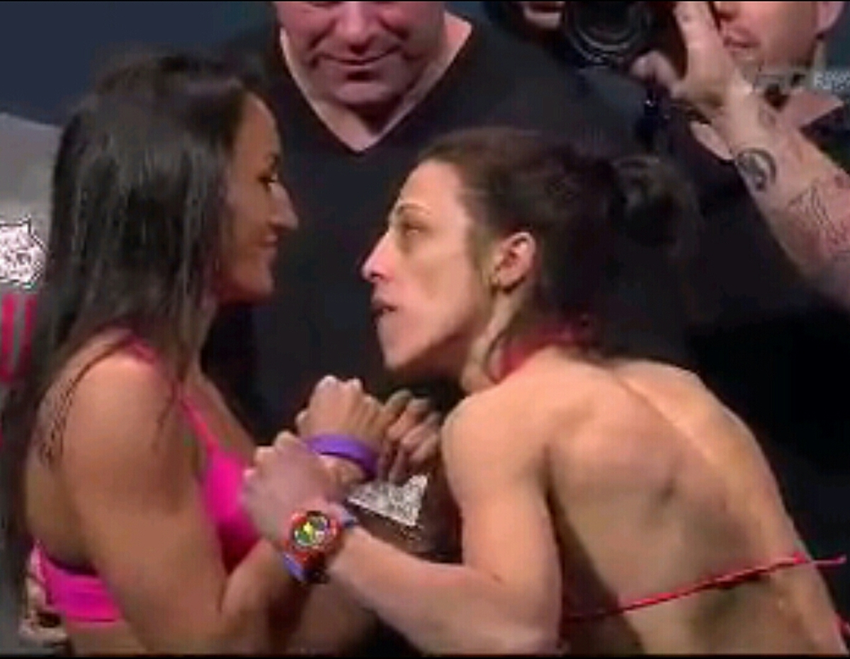 UFC 185 Full Weigh-In Results: Esparza 115 lbs vs Jedrzejczyk 115 lbs