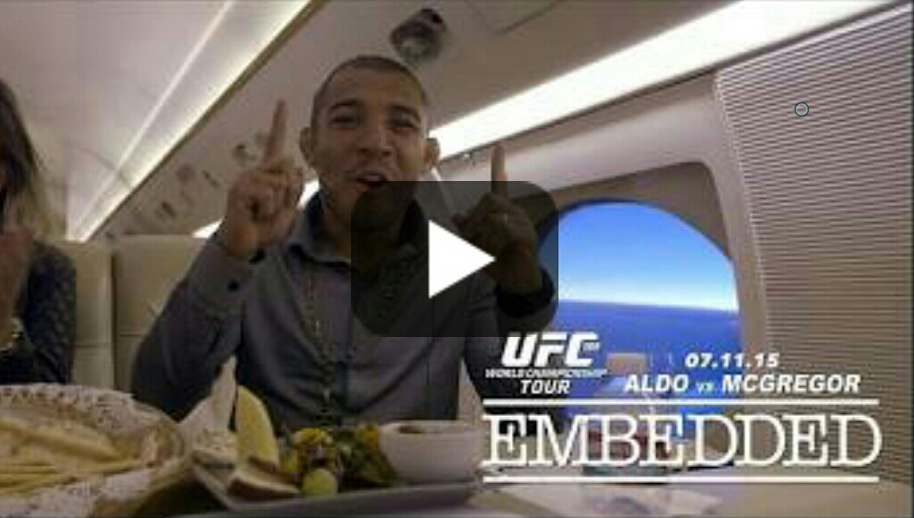 UFC 189 World Championship Tour Embedded: Ep 5 'You're a Dead Man Walking' Conor McGregor