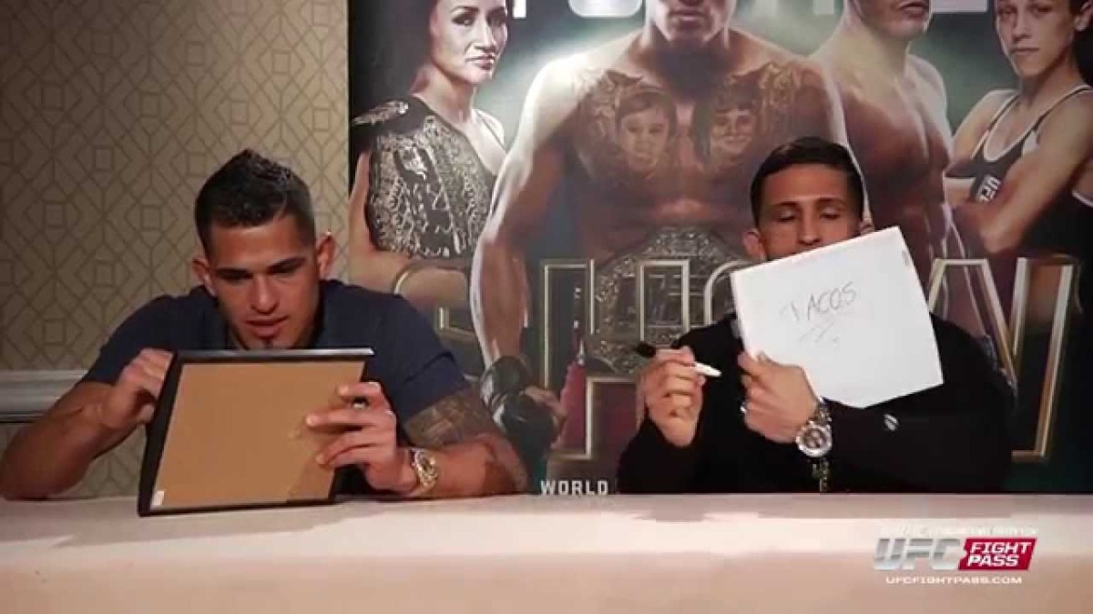 UFC 185: The Pettis Show – Brothers Quiz