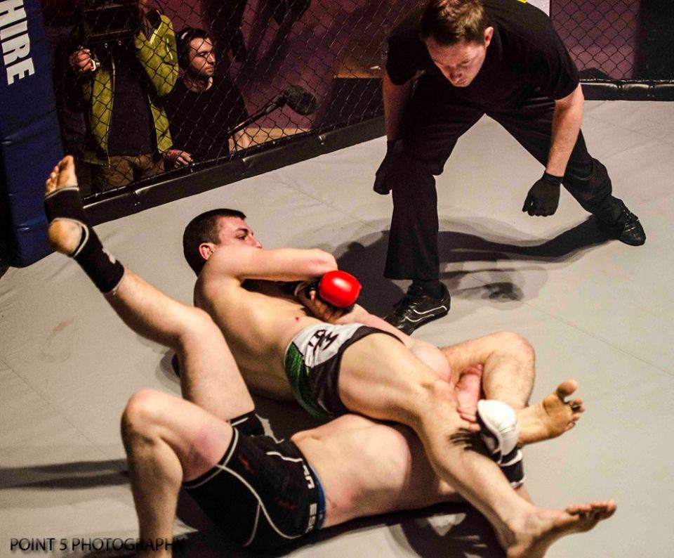 RAGED UK MMA – Event Play-by-Play Action March 7th Event
