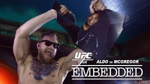 UFC 189 World Championship Tour Embedded: Ep 1 'The War TourBegins'