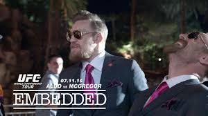 UFC 189 World Championship Tour Embedded Episode 3