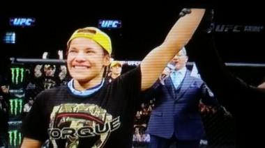 Julianna Pena Win UFC Fight Night 63 Fairfax