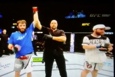 Michael Chiesa Win UFC Fight Night 63 Fairfax