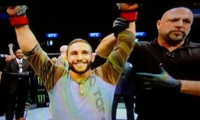 Chad Mendes Win UFC Fight  Night 63 Fairfax