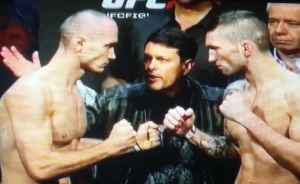 Marcus Banded vs. Stevie Ray UFC Fight Night Krakow Face off