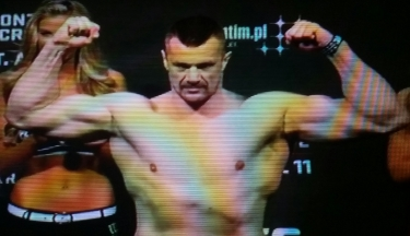 Mirko Cro Cop UFC Fight Night Krakow Weigh-In