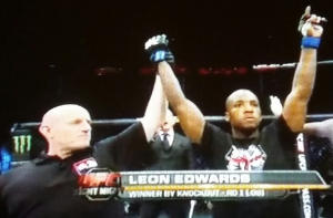 Leon Edwards Winning  UFC Fight Night  Krakow