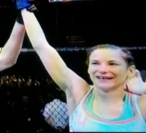 Maryna Moroz Winning UFC Fight Night Krakow