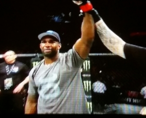Jimi Manuwa Winning UFC Fight Night Krakow