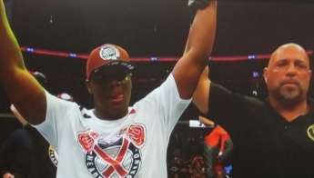 Ovince St. Preux Winning UFC Fight Night New Jersey
