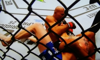 Jacare Souza with the Armbar on Chris Camozzi UFC Fight Night New Jersey