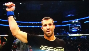 Luke Rockhold Winning UFC Fight Night New Jersey