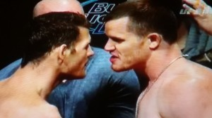 Michael Bisping vs. C.B. Dollaway  Face Off UFC 186