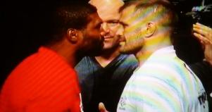 Quinton Rampage vs. Fabio Maldonado Face Off UFC 186