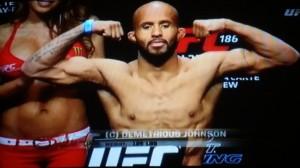 Demetrious Johnson Weigh In UFC 186