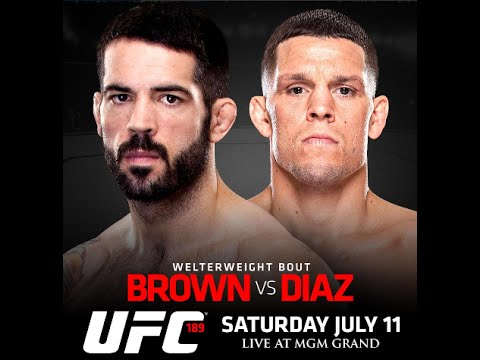 'Fight against Nate Diaz isn't happening now' Matt Brown