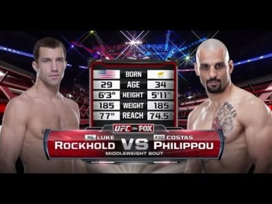 Luke Rockhold vs Costas Philippou: Free Fight
