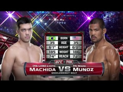 Lyoto Machida vs. Mark Munoz